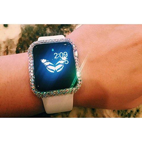 Swarovski Watch Bling - Swarovski Rhinestone Apple Watch Frame