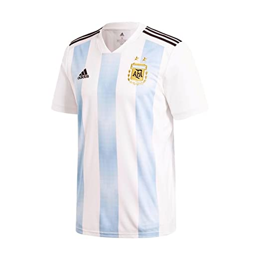 3999e128c27 Amazon.com   adidas Men s Soccer Argentina Home Jersey   Sports   Outdoors