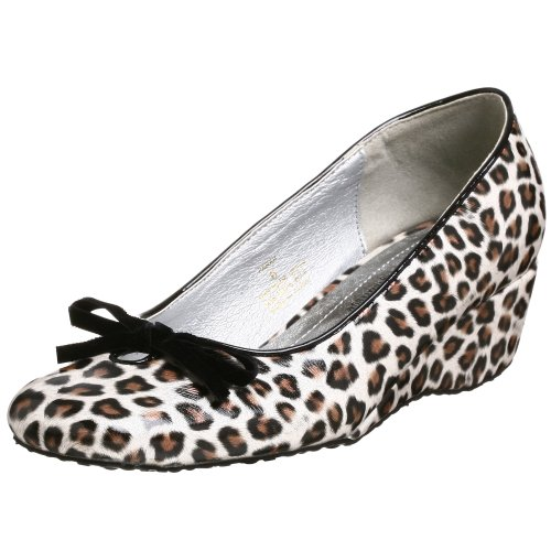Coconuts by Matisse Farah Wedge Pump,Silver,5.5 M US