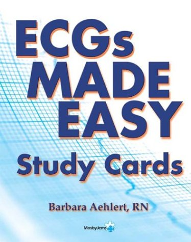 ECG's Made Easy Study Cards