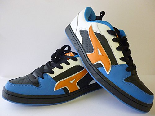 Airwalk Homme Chaussures Skateboard Chaussures de sportWhite Lace Up Fashion Skate Shoes/Trainers. - White/Black/Blue/Orange Sizes 41 42 43 44 45 47 New