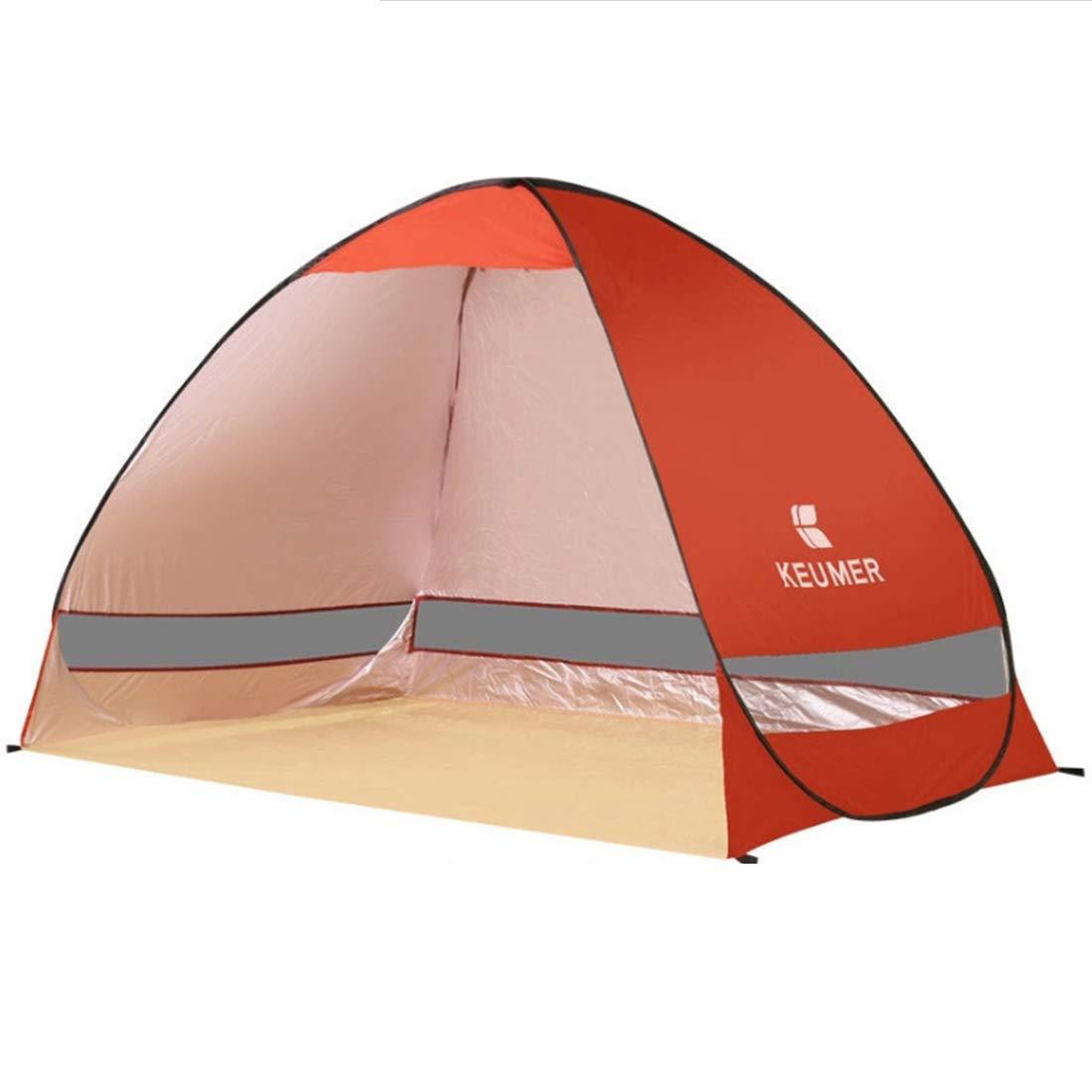 Xasclnis Im Freien kampierendes tragbares Zelt für Das Zelt mit 2 Personen (Farbe : ROT)
