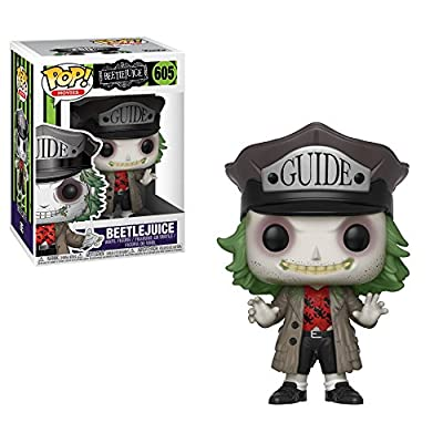 Funko Pop Horror: Beetlejuice - Beetlejuice with Hat Collectible Figure, Multicolor: Toys & Games