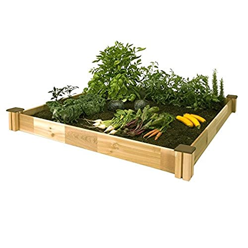 Outdoor Living Today 8 ft. x 12 ft. Cedar Raised Garden ...