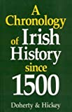 A Chronology of Irish History since 1500, J. E. Doherty and D. J. Hickey, 0389208957