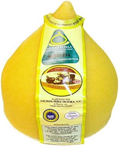 Queso Tetilla - Queixo Tetilla - Denominación de Origen Protegida: Amazon.es: Alimentación y bebidas