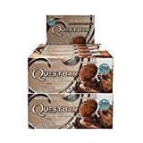 quest protein chocolate chunk - Quest Nutrition Protein Bar Double Chocolate Chunk. Low Carb Meal Replacement Bar w/ 20g+ Protein. High Fiber, Soy-Free, Gluten-Free (24 Count)