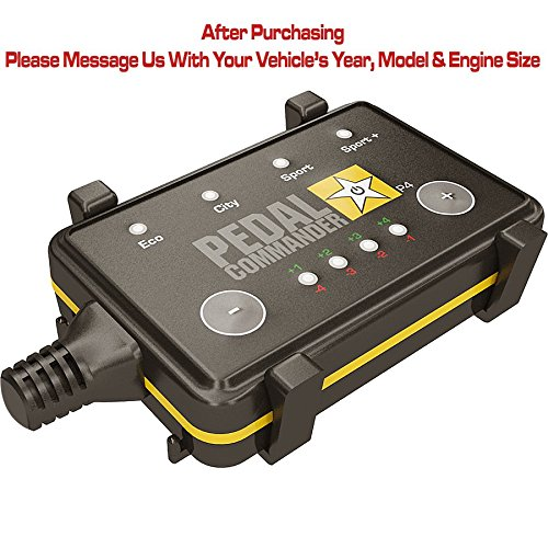 Pedal Commander throttle response controller for all Ferrari models 2007 and newer - get increased performance or save fuel up to 20% (Modena Ferrari 360 Spider)