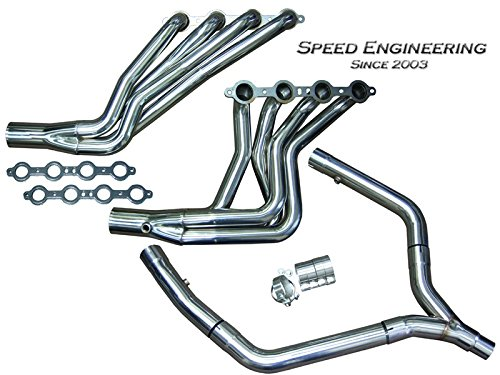 Ls1 Y-pipe (LS1 Camaro & Firebird Longtube Headers & Y-Pipe (1 3/4