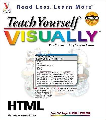 Teach Yourself HTML VISUALLY (Teach Yourself Visually): Ruth
