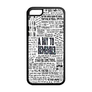 A Day To Remember Hard Rubber Cell Phone Cover Case for iPhone 5C,5C Phone Cases