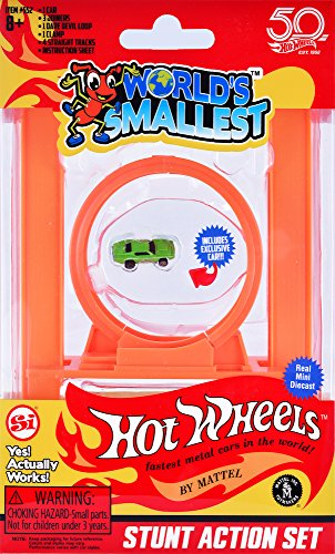 Worlds Smallest Hot Wheels Stunt Action  Multi