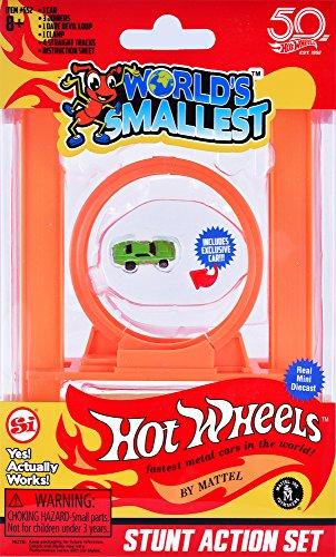 Worlds Smallest Hot Wheels Stunt Action Set