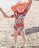 RuffleButts Baby/Toddler Girls Sunset Garden One