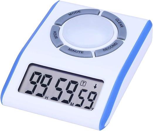 AIMILAR Reloj digital con temporizador de cuenta regresiva ...