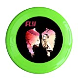 ^GinaR^ 150g Avril Lavigne Fly Toy Funny Frisbee Disc - KellyGreen