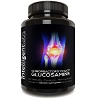 1 Best Glucosamine On Amazon, Triple Strength Glucosamine Sulphate Complex 1500mg, with Boswellia, Chondroitin, MSM and Turmeric