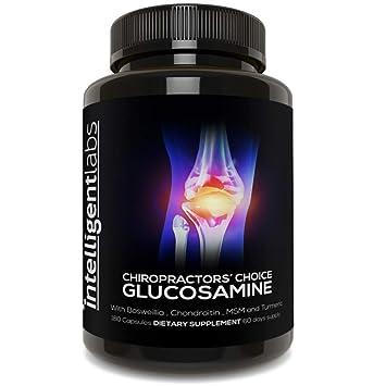 Sulfato de glucosamina en un