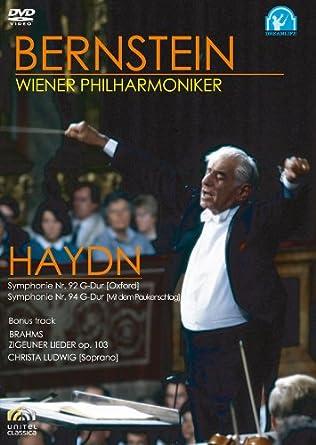 バーンスタイン/ウィーン・フィルハーモニー管弦楽団 ハイドン:交響曲第92番、第94番 [DVD]