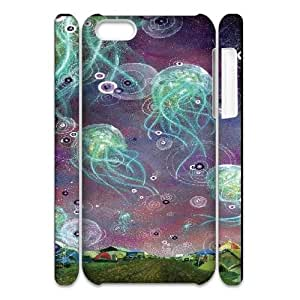 LTTcase Custom Jellyfish 3D Hard Case for iphone 5c