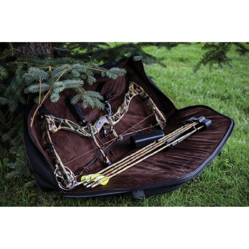 Compound Bow Case, Black Gear Fit X Fits Compound Bows up to 35'' Axle to Axle by Allen Company (Image #2)