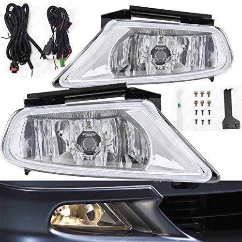 UFRAME Fits 2005 2006 2007 Honda Odyssey EX/EX-L/EXL / LX/Touring Halogen Fog light Kit w/Wiring /Switch/Bulbs ()
