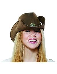 HMS Leather Like Cowboy Hat