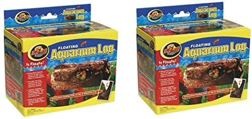 (2 Pack) Zoo Med Floating Aquarium Logs, Small by Zoo Med