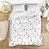 Picture It On Canvas Family Comfort Bed Sheet Sword 4 Piece Bedding Sets Polyester Duvet Cover HypoallergenicOversized Bedspread,Twin Size