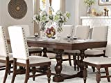 County Cottage Dark Brown Dining Furniture (Dining Table) Review