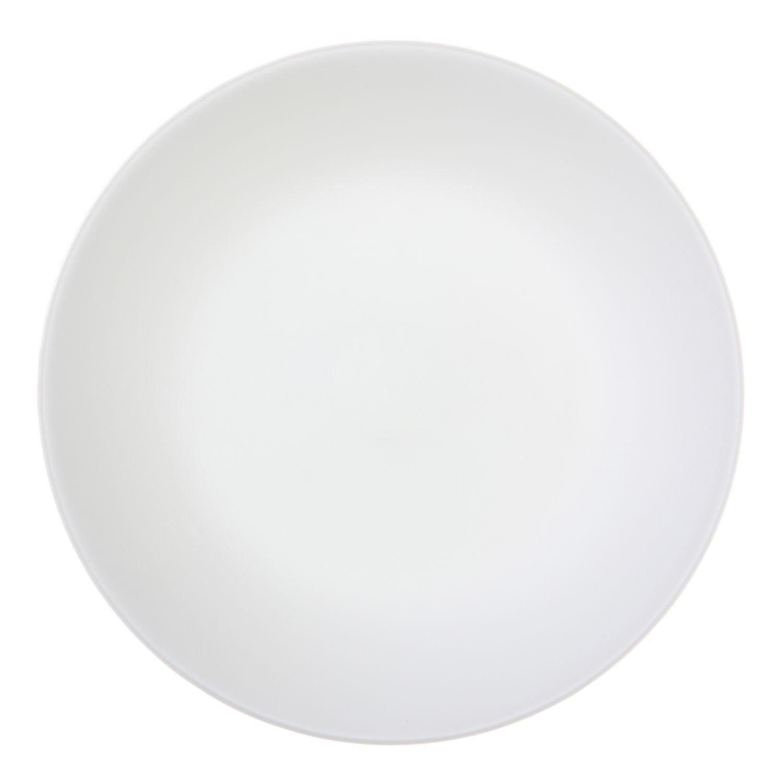 Corelle Winter Frost Plates White Luncheon 8-1/2' Dia. Corelle Coordinates 6003880