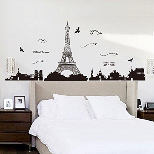 Vinilo Decorativo De Paris Torre Eiffel