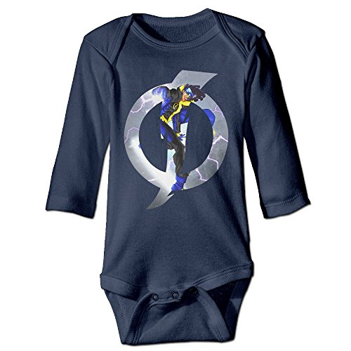 [Bro-Custom Tv Static Poster For 6-24 Months Boys&Girls Romper Bodysuit 12 Months Navy] (Board Game Characters Costumes)
