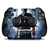 Controller Gear Uncharted 4 A Thief's End - PS4 Controller and Controller Stand Skin Set