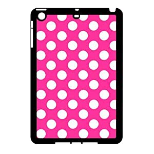 D-PAFD Design Case Polka dot Customized Hard Plastic Case for iPad Mini