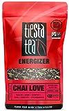 Tiesta Tea Chai Love Spiced Chai Black Tea, 200 Servings, 1 Pound Bag - High Caffeine, Loose Leaf Black Tea Energizer Blend, Non-GMO