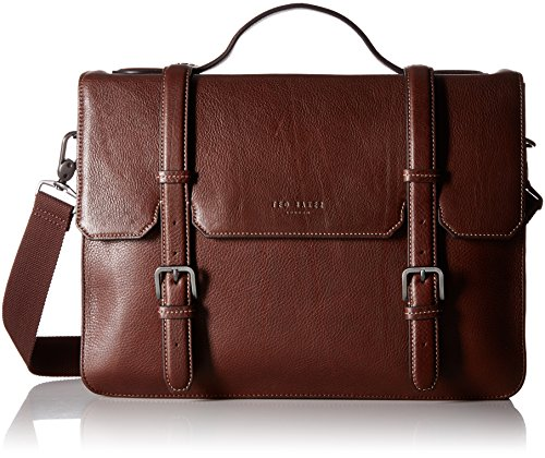 Amazon.com: Ted Baker Men's Flame Bag, Dark Tan: Clothing