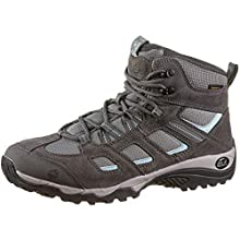 Jack Wolfskin Vojo Hike 2 Texapore Mid W Wasserdicht Zapatos de High Rise Senderismo para Mujer,Gris ( Tarmac Gris 6011) , 35.5 EU