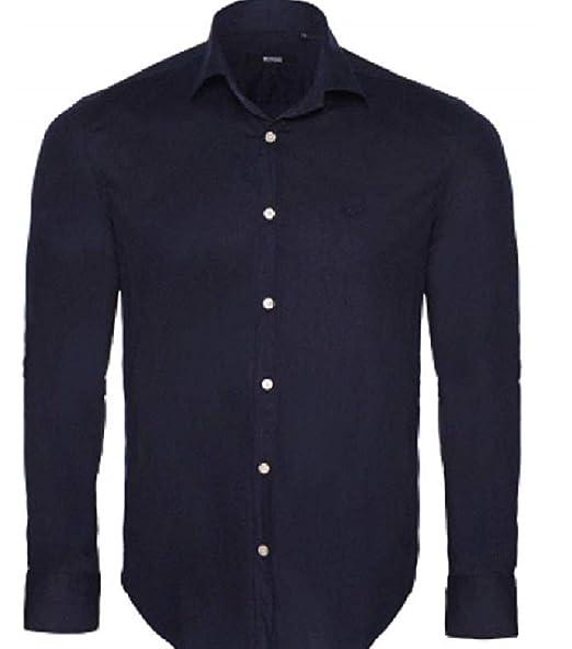 by Hugo Boss - Camisa Casual - para Hombre Azul Navy S