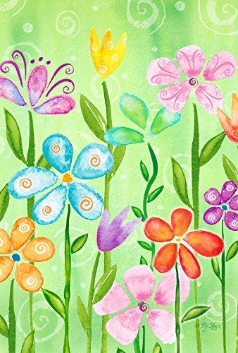 Spring Blooms 12.5 x 18 Inch Floral Garden Flag