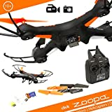 Zoopa 2.4GHz Q 420 Cruiser - 6-Axis Gyro RC Quadcopter Drone with integrated HD Camera