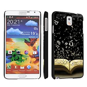 NakedShield Samsung Galaxy Note 3 III Book and Words Ultra Slim Art Phone Cover Case