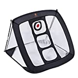 Golf Chipping Net Flash Pop up Pitching Net with 3 Targets for Improving Accuracy Hitting Net |Golf Training Net for Indoor Outdoor Backyard Practice Swing Game