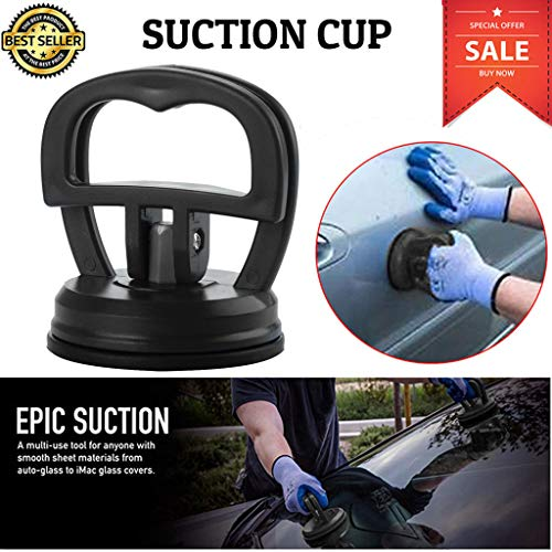 Car Dent Repair Puller | Vacuum Suction Cup | Bodywork Panel Sucker Remover Tool | Heavy Duty Handle Lifter Dent Puller - 2019 Newest Auto Repair Tool (Black)