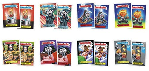 Topps 2016 GPK American as Apple Pie in Your Face: Halloween, Complete Set