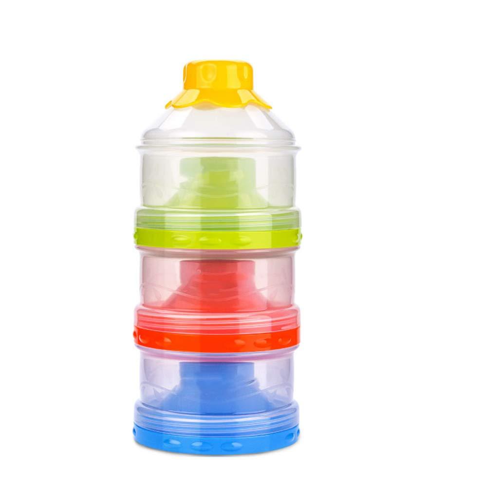 Nrpfell Formula Dispenser BPA Free Non-Spill Baby Milk Powder Dispenser /& Snack Cup Storage Container Blue