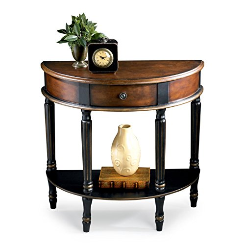 6 drawer accent console table - 8