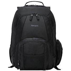 Targus Groove Backpack for 16-Inch Laptops, Black (CVR600)
