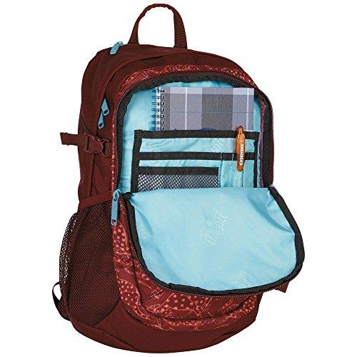 Chiemsee School - Mochila Unisex adulto Rot (Cangoobatik)