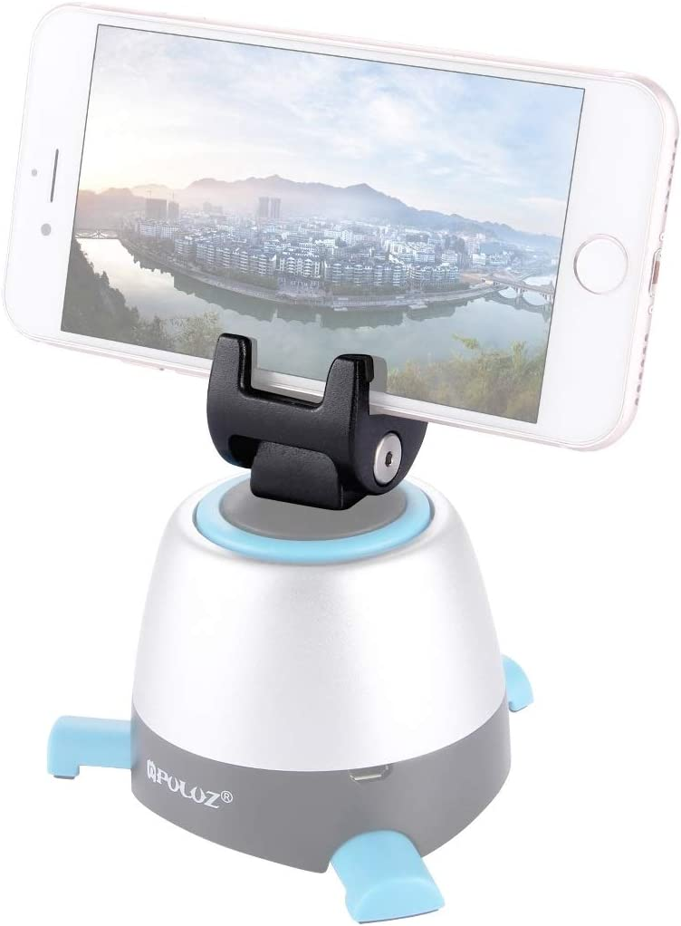 CAOMING Phone Mount Metal Clamp for 360 Degree Rotation Panoramic Head Durable